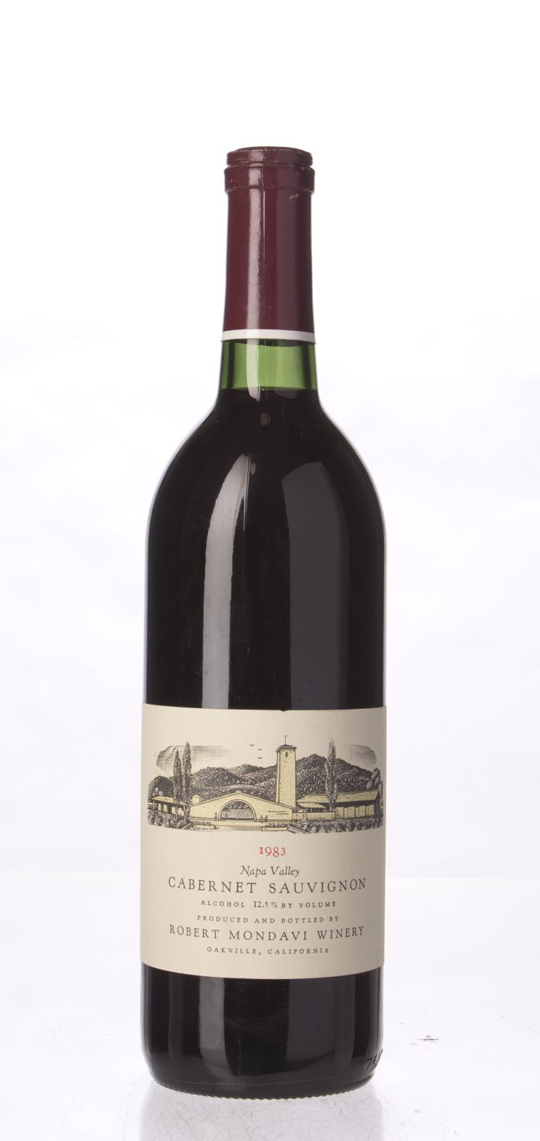 Robert Mondavi Cabernet Sauvignon Napa Valley 1983, 750mL (WS94) from The BPW - Merchants of rare and fine wines.