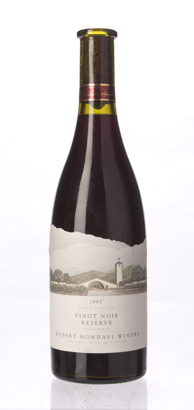 Robert Mondavi Pinot Noir Reserve 1997, 750mL (WA92, ST90) from The BPW - Merchants of rare and fine wines.