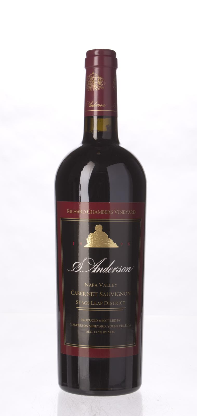 S. Anderson Cabernet Sauvignon Richard Chambers Vineyard 1998,  () from The BPW - Merchants of rare and fine wines.