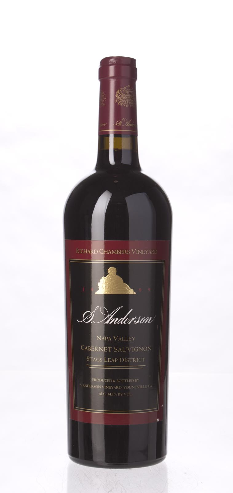 S. Anderson Cabernet Sauvignon Richard Chambers Vineyard 1999, 750mL (WS94) from The BPW - Merchants of rare and fine wines.