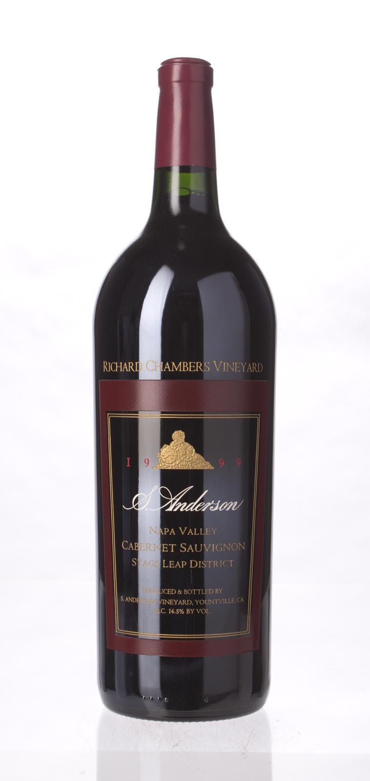 S. Anderson Cabernet Sauvignon Richard Chambers Vineyard 1999, 1.5L (WS94) from The BPW - Merchants of rare and fine wines.