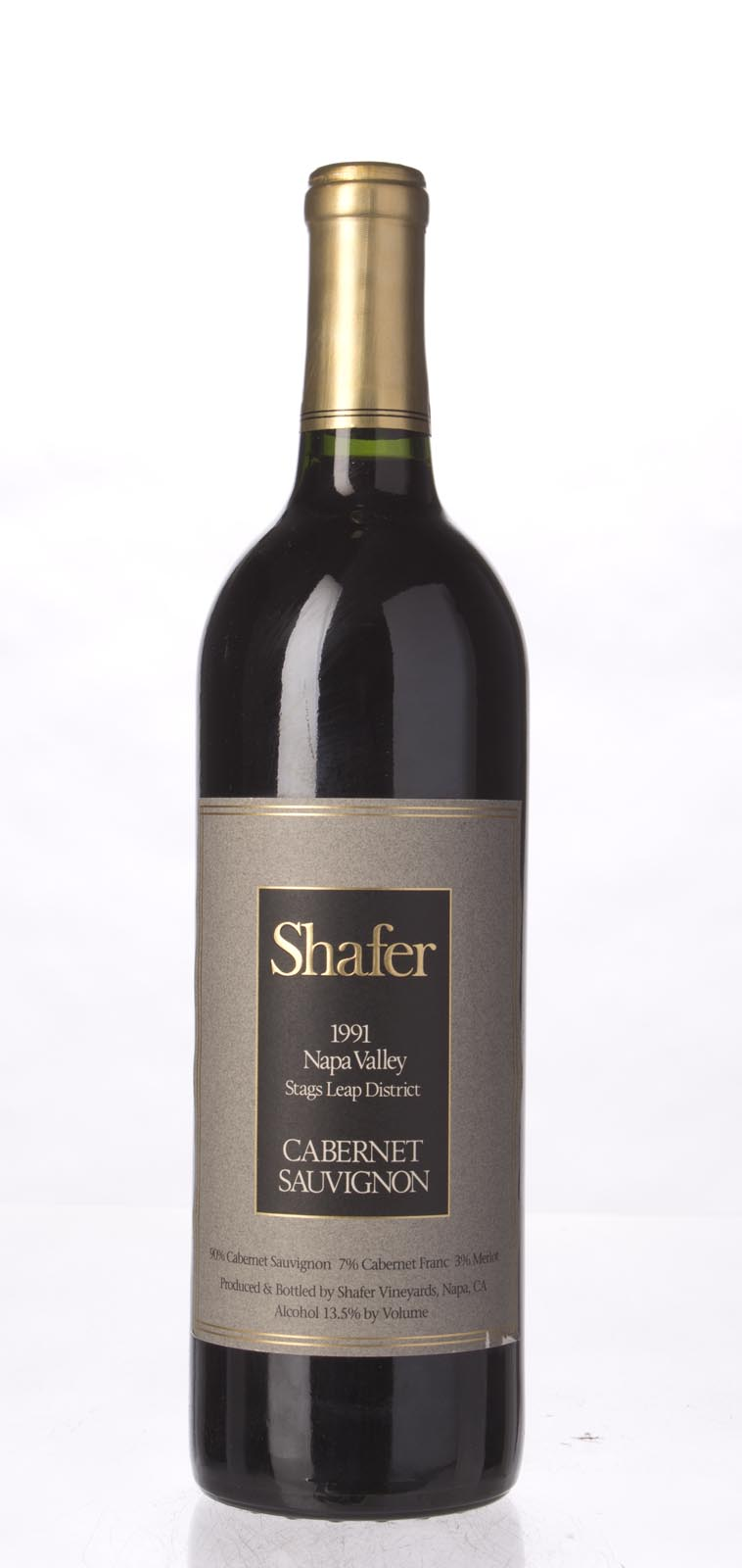 Shafer Cabernet Sauvignon Stag`s Leap District 1991, 750mL (WS91) from The BPW - Merchants of rare and fine wines.