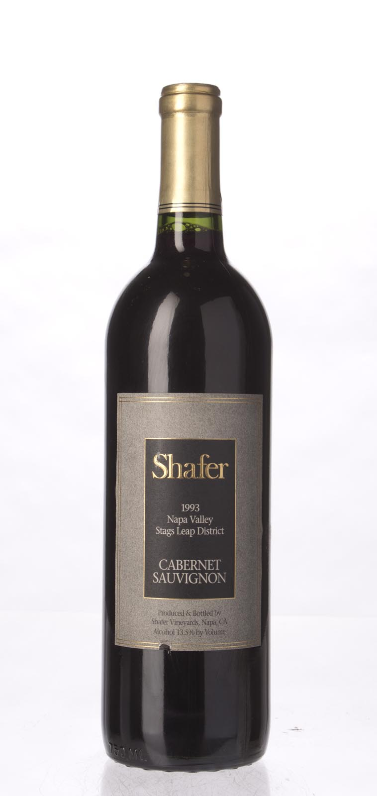 Shafer Cabernet Sauvignon Stag`s Leap District 1993, 750mL (WA89) from The BPW - Merchants of rare and fine wines.