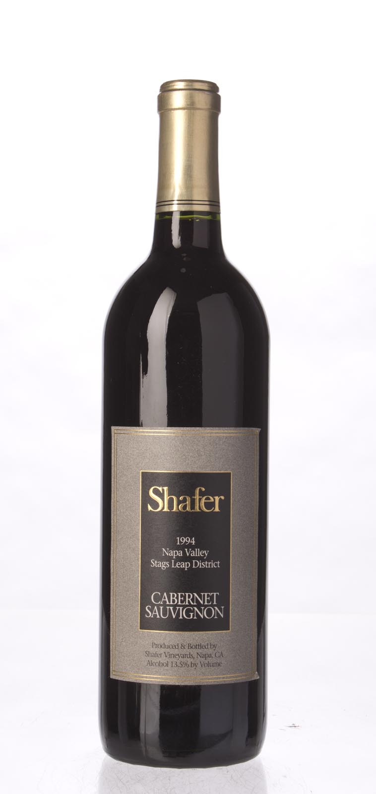 Shafer Cabernet Sauvignon Stag`s Leap District 1994, 750mL (WA90) from The BPW - Merchants of rare and fine wines.