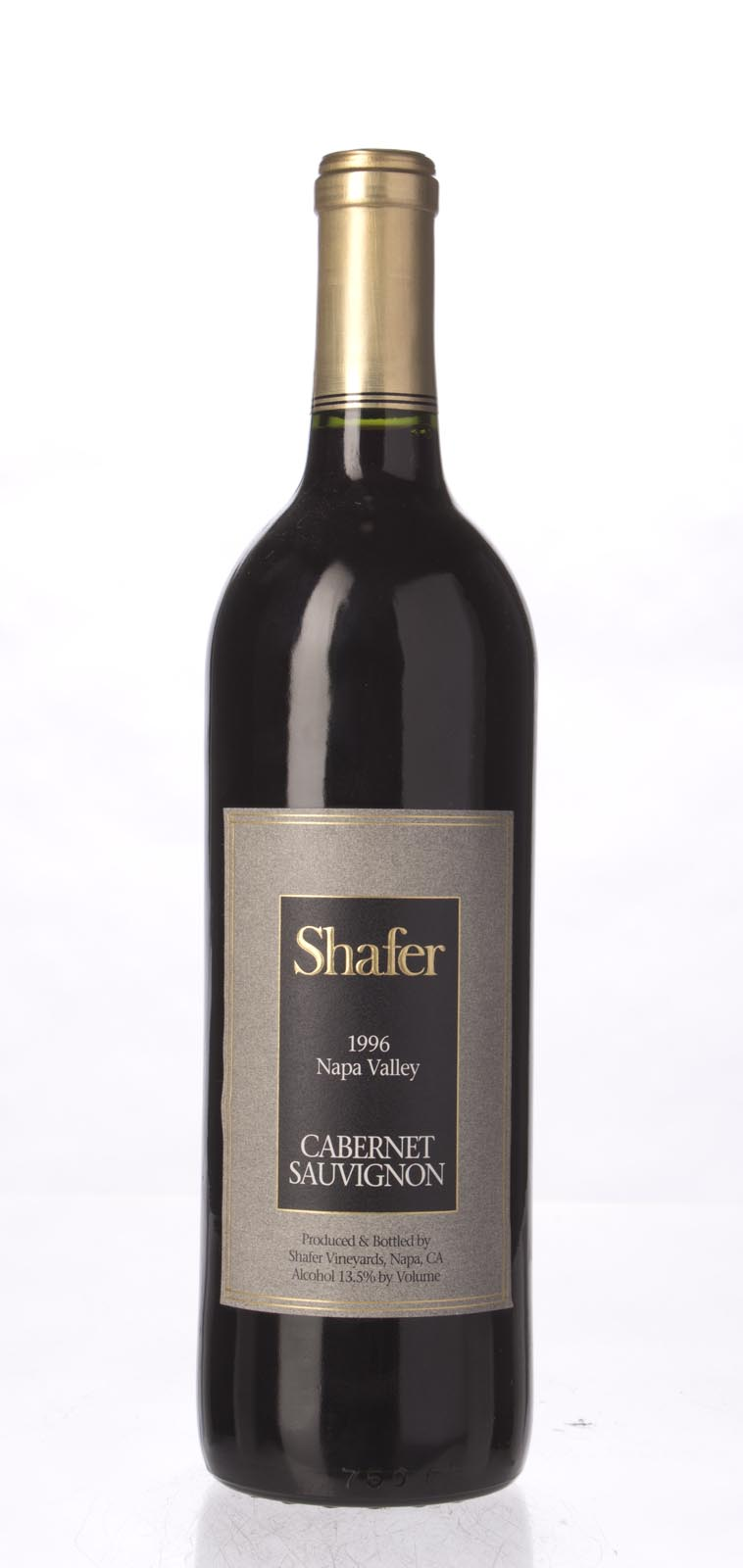 Shafer Cabernet Sauvignon Stag`s Leap District 1996, 750mL (WA89) from The BPW - Merchants of rare and fine wines.