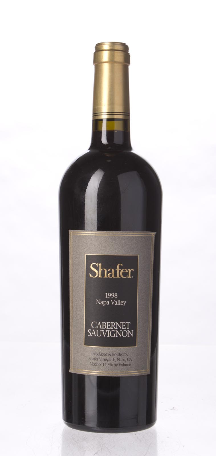Shafer Cabernet Sauvignon Stag`s Leap District 1998, 750mL (WA89) from The BPW - Merchants of rare and fine wines.