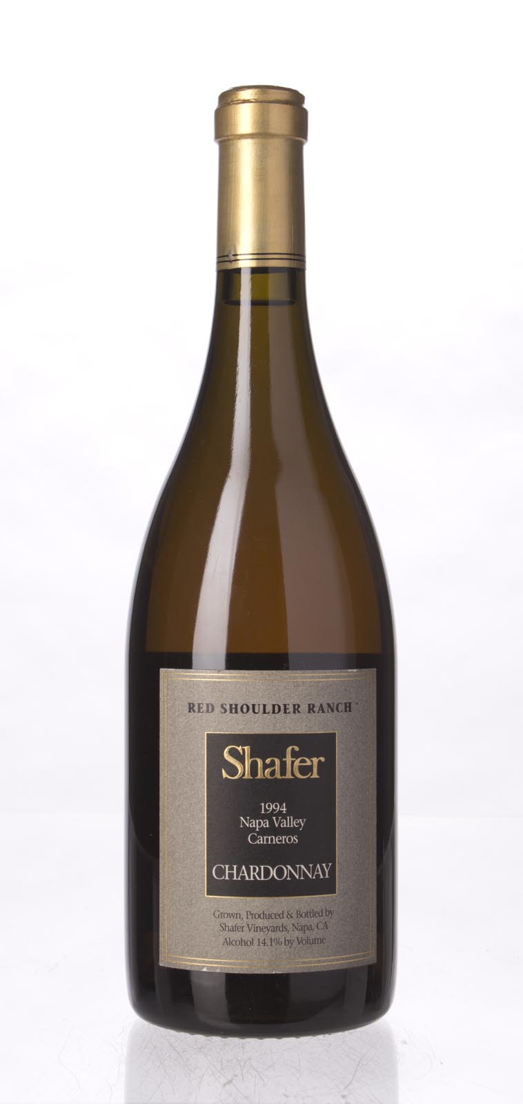 Shafer Chardonnay Red Shoulder Ranch 1994, 750mL (WA92, WS93) from The BPW - Merchants of rare and fine wines.