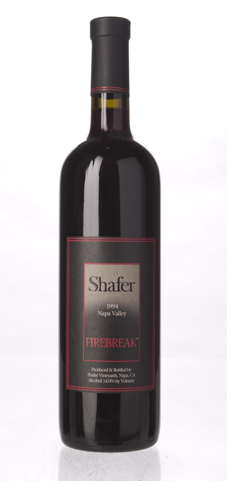 Shafer Firebreak Sangiovese 1994, 750mL (WA89) from The BPW - Merchants of rare and fine wines.