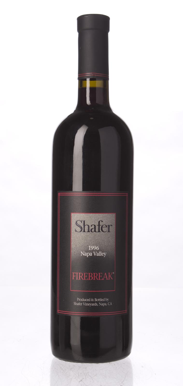 Shafer Firebreak Sangiovese 1996, 750mL (ST90) from The BPW - Merchants of rare and fine wines.
