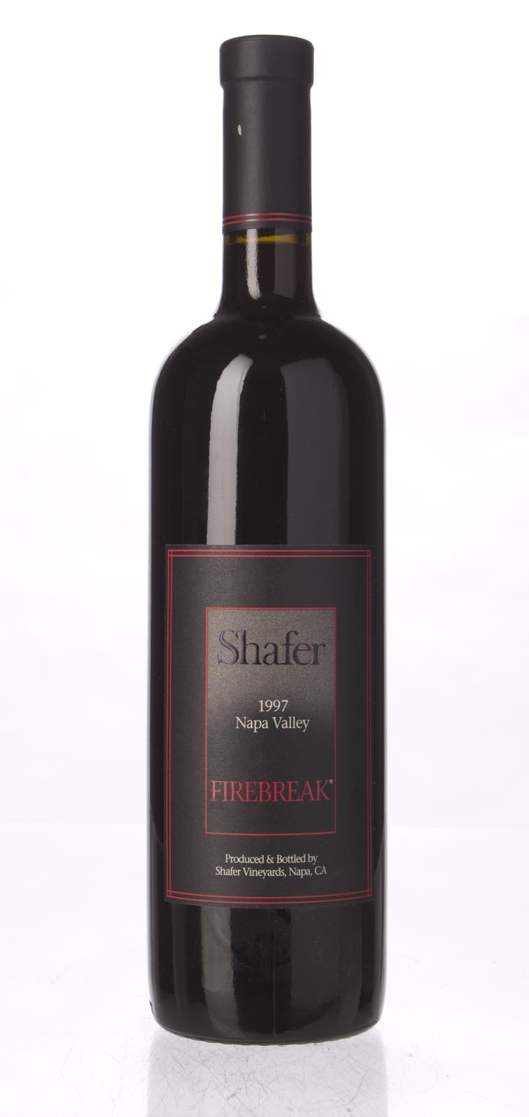 Shafer Firebreak Sangiovese 1997, 750mL (WA90, ST91) from The BPW - Merchants of rare and fine wines.