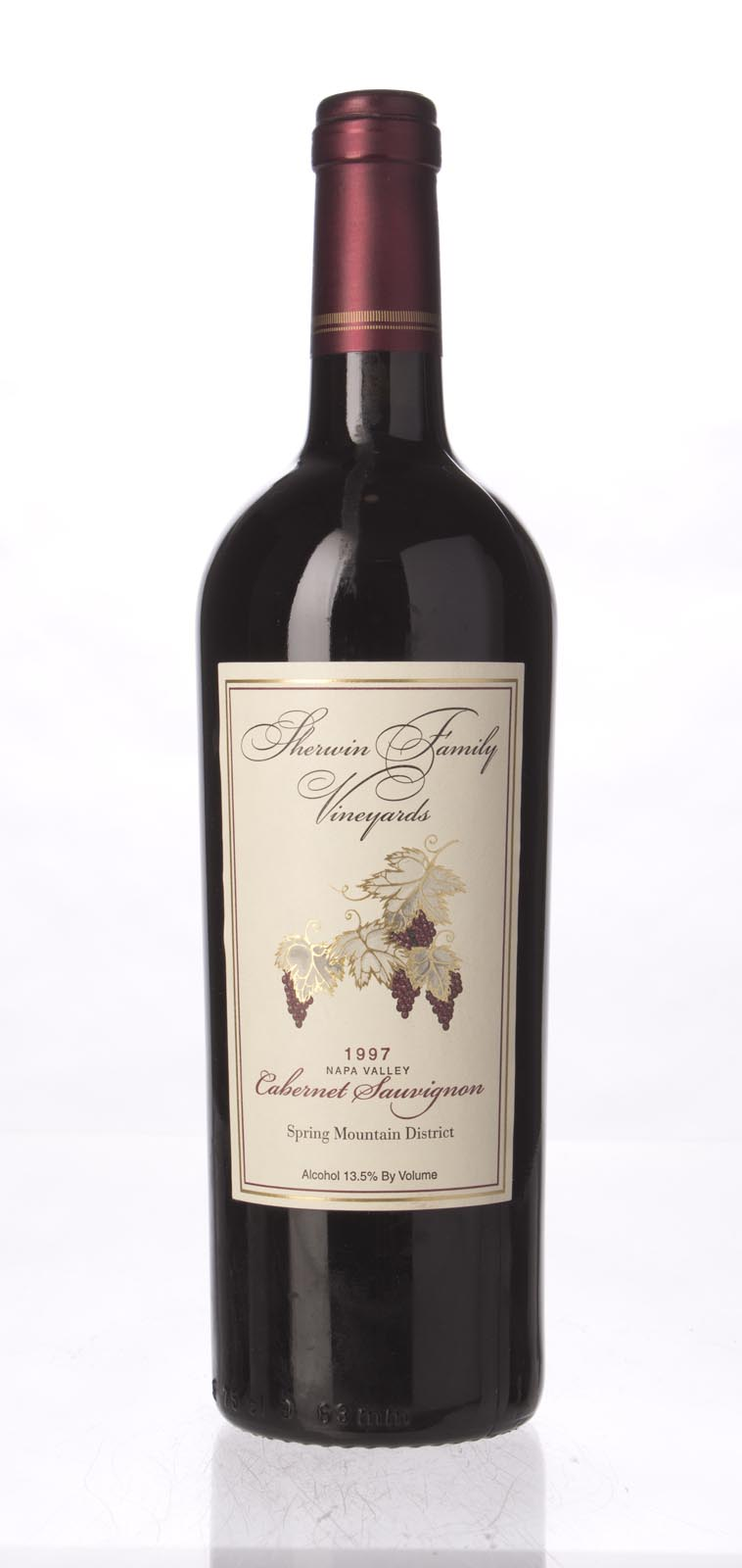 Sherwin Family Cabernet Sauvignon Spring Mountain 1997, 750mL (WS92) from The BPW - Merchants of rare and fine wines.