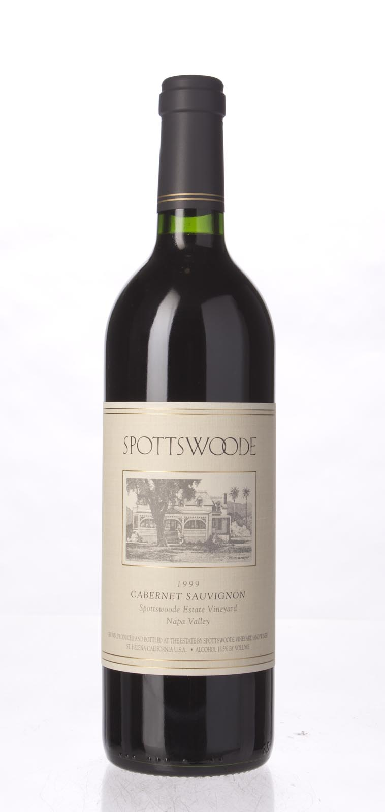 Spottswoode Cabernet Sauvignon Napa Valley 1999, 750mL (WS94) from The BPW - Merchants of rare and fine wines.