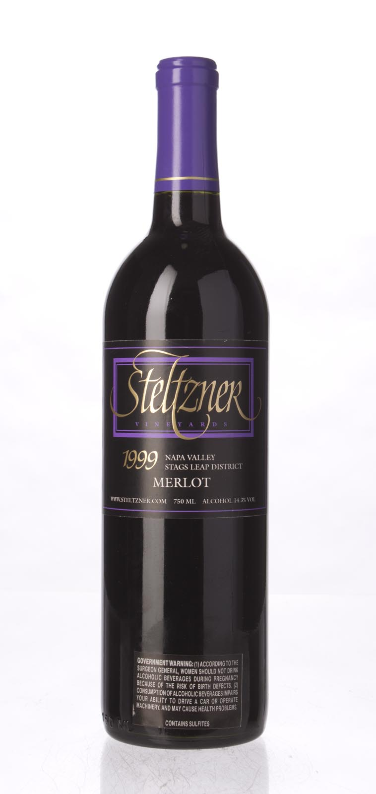 Steltzner Merlot 1999, 750ml () from The BPW - Merchants of rare and fine wines.