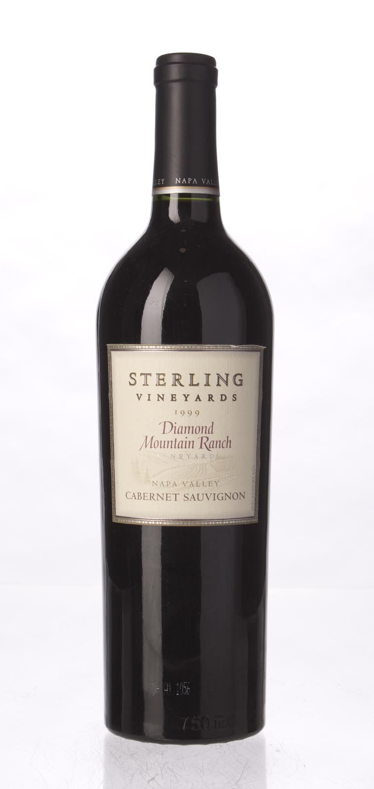 Sterling Vineyards Cabernet Sauvignon Diamond Mountain Ranch 1999, 750mL () from The BPW - Merchants of rare and fine wines.