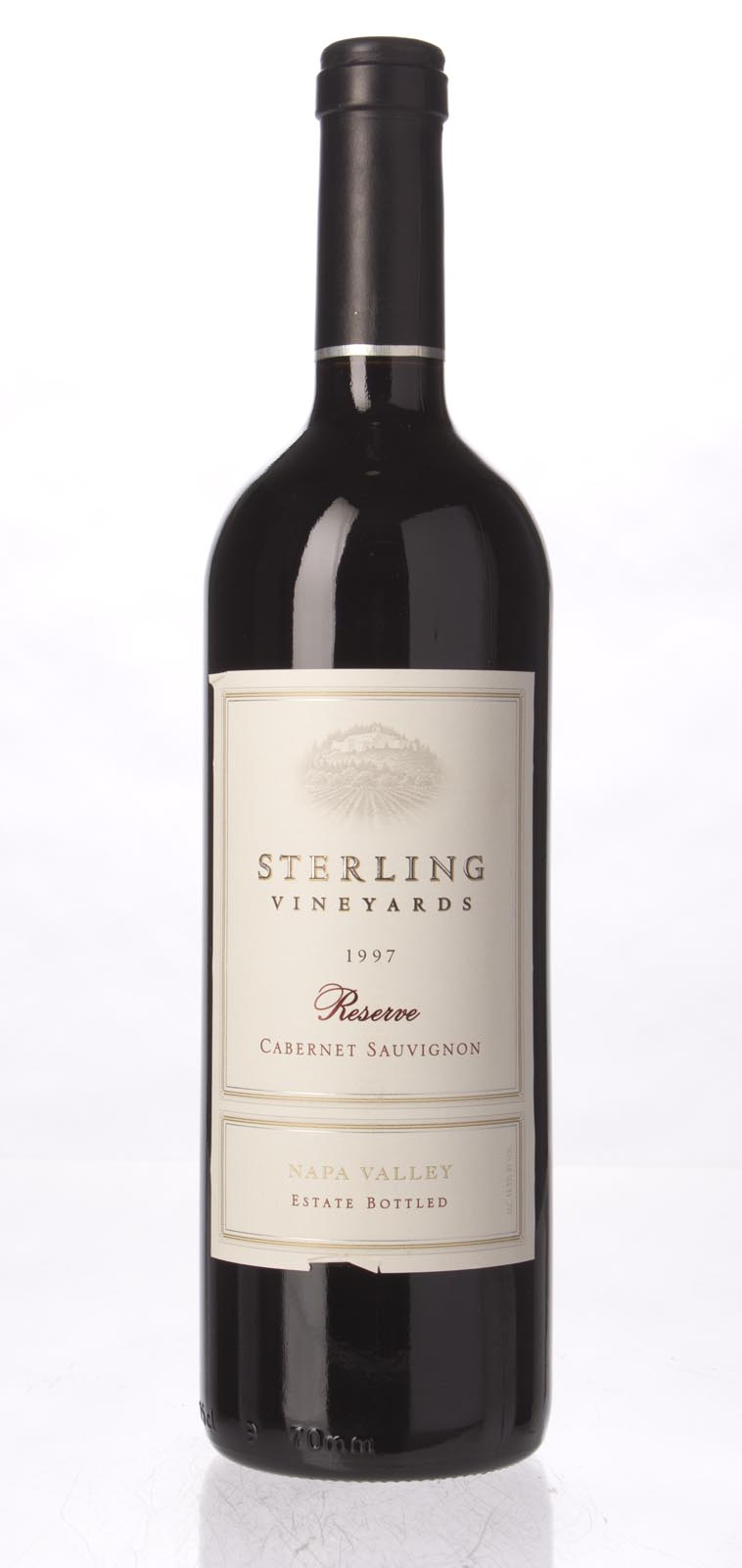 Sterling Vineyards Cabernet Sauvignon Napa Valley Reserve 1997, 750mL (WS93) from The BPW - Merchants of rare and fine wines.