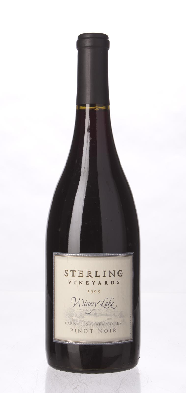 Sterling Vineyards Pinot Noir Winery Lake 1999, 750mL () from The BPW - Merchants of rare and fine wines.