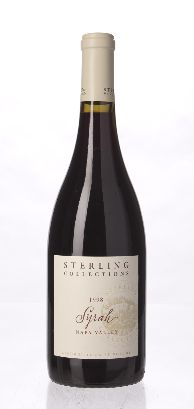 Sterling Vineyards Syrah Napa Valley 1998, 750mL () from The BPW - Merchants of rare and fine wines.