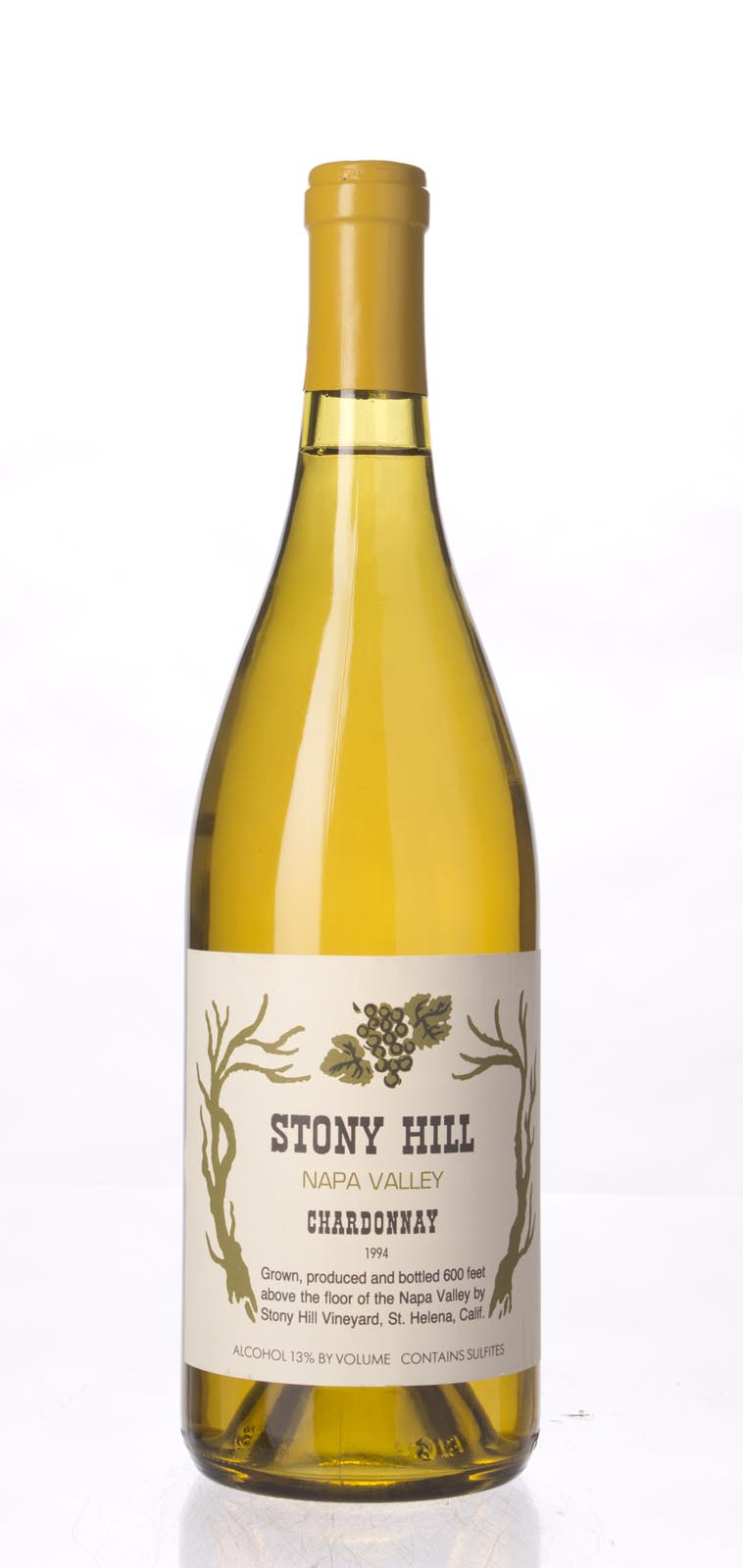 Stony Hill Vineyard Chardonnay Napa Valley 1994,  () from The BPW - Merchants of rare and fine wines.