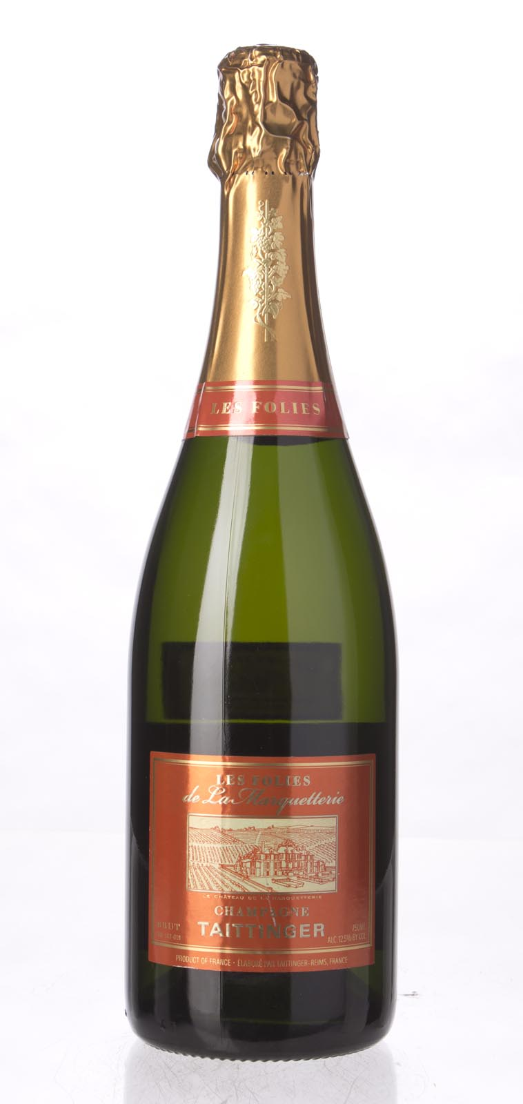 Taittinger Brut Les Folies de la Marquetterie N.V., 750mL () from The BPW - Merchants of rare and fine wines.