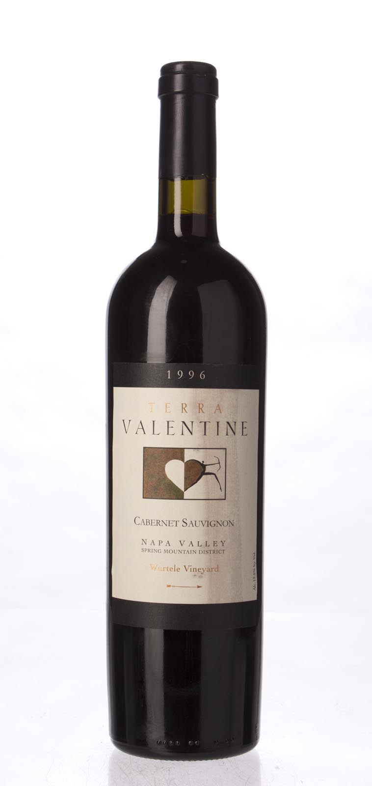 Terra Valentine Cabernet Sauvignon Wurtele Vineyard 1996, 750mL () from The BPW - Merchants of rare and fine wines.