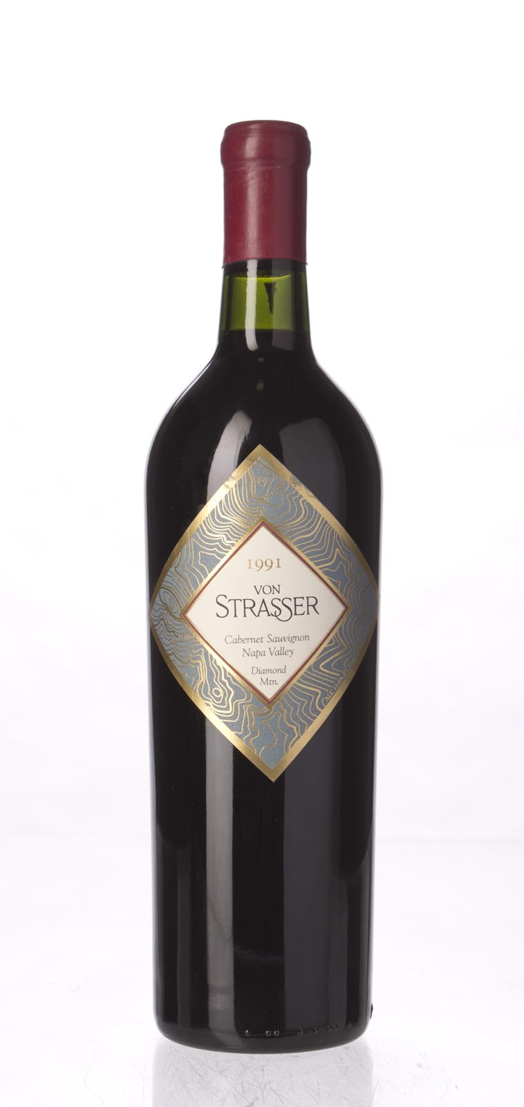 Von Strasser Cabernet Sauvignon Diamond Mountain 1991, 750mL (WS91) from The BPW - Merchants of rare and fine wines.