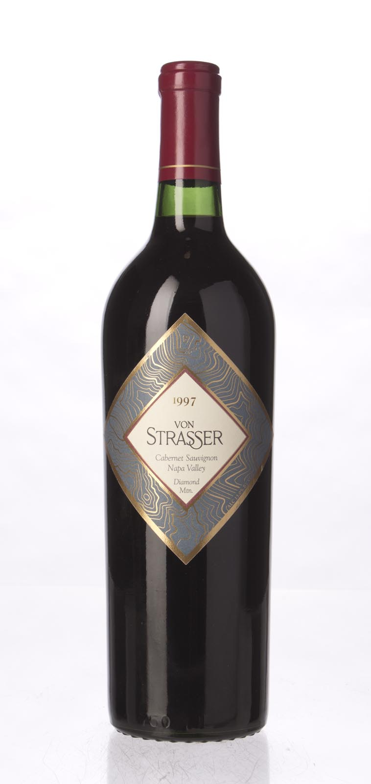 Von Strasser Cabernet Sauvignon Diamond Mountain 1997, 750mL (ST91) from The BPW - Merchants of rare and fine wines.