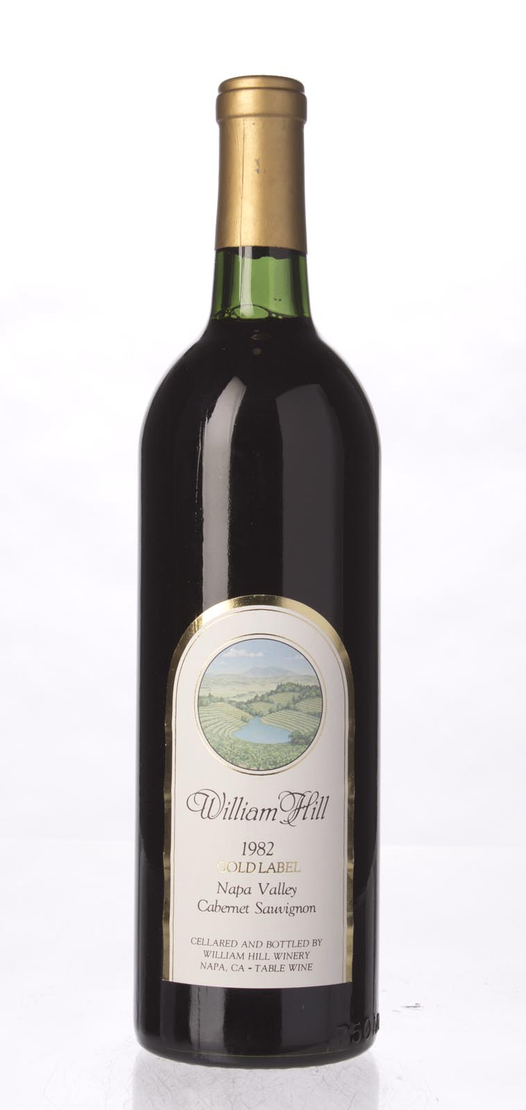 William Hill Cabernet Sauvignon Gold Label 1982, 750mL (WS94) from The BPW - Merchants of rare and fine wines.