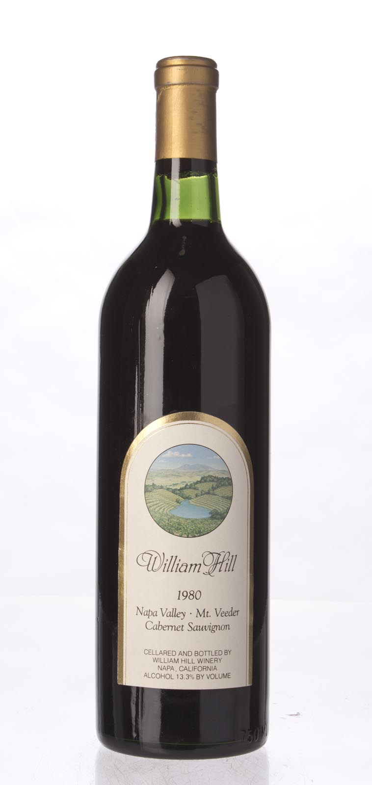 William Hill Cabernet Sauvignon Mount Veeder 1980, 750mL () from The BPW - Merchants of rare and fine wines.