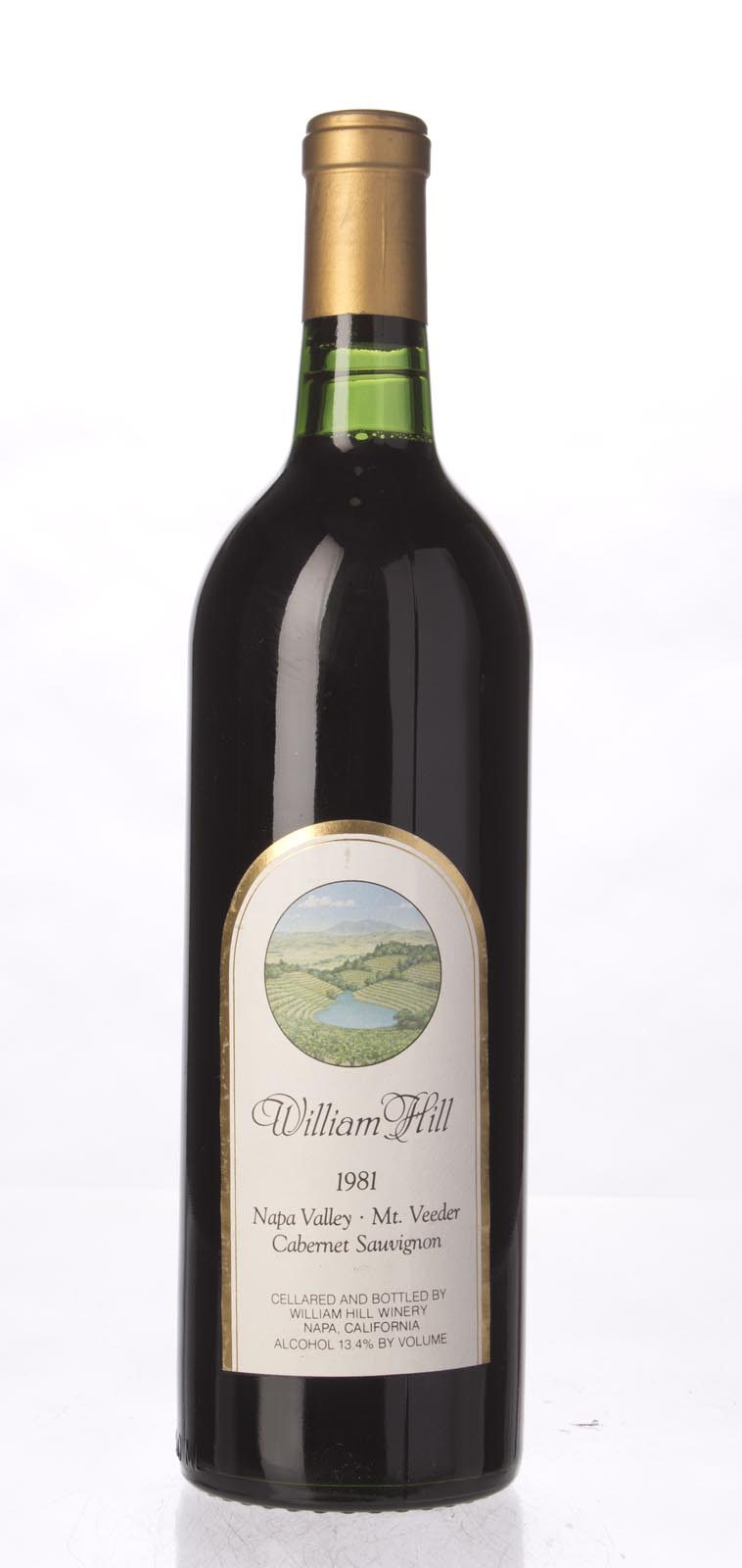 William Hill Cabernet Sauvignon Mount Veeder 1981, 750mL () from The BPW - Merchants of rare and fine wines.