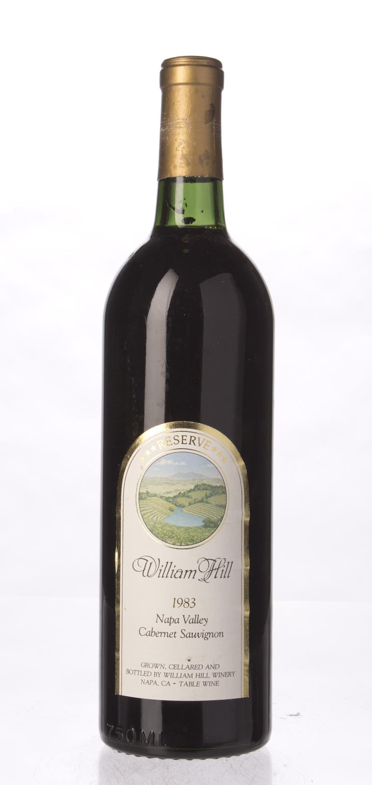 William Hill Cabernet Sauvignon Reserve 1983, 750ml () from The BPW - Merchants of rare and fine wines.