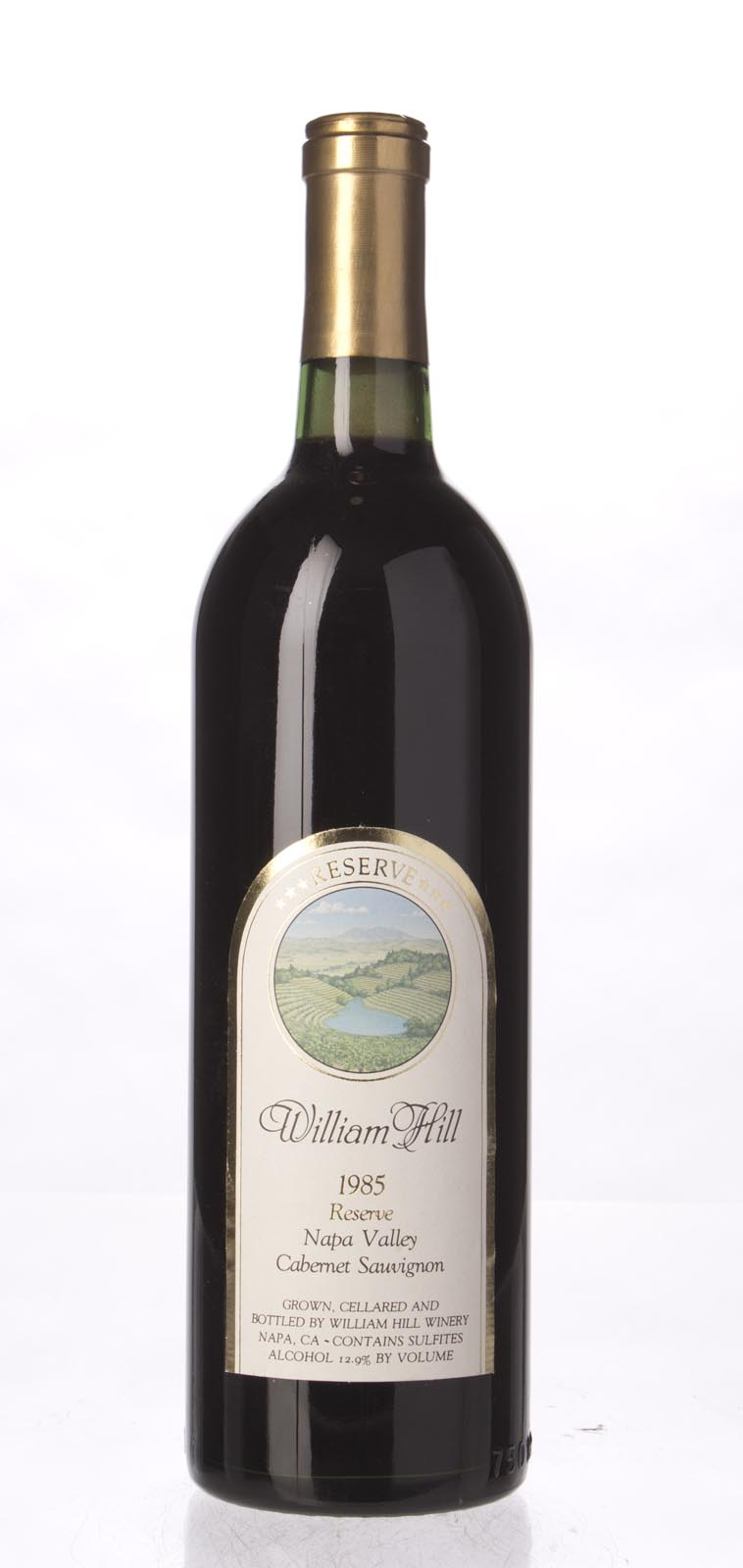 William Hill Cabernet Sauvignon Reserve 1985, 750mL (WS92) from The BPW - Merchants of rare and fine wines.