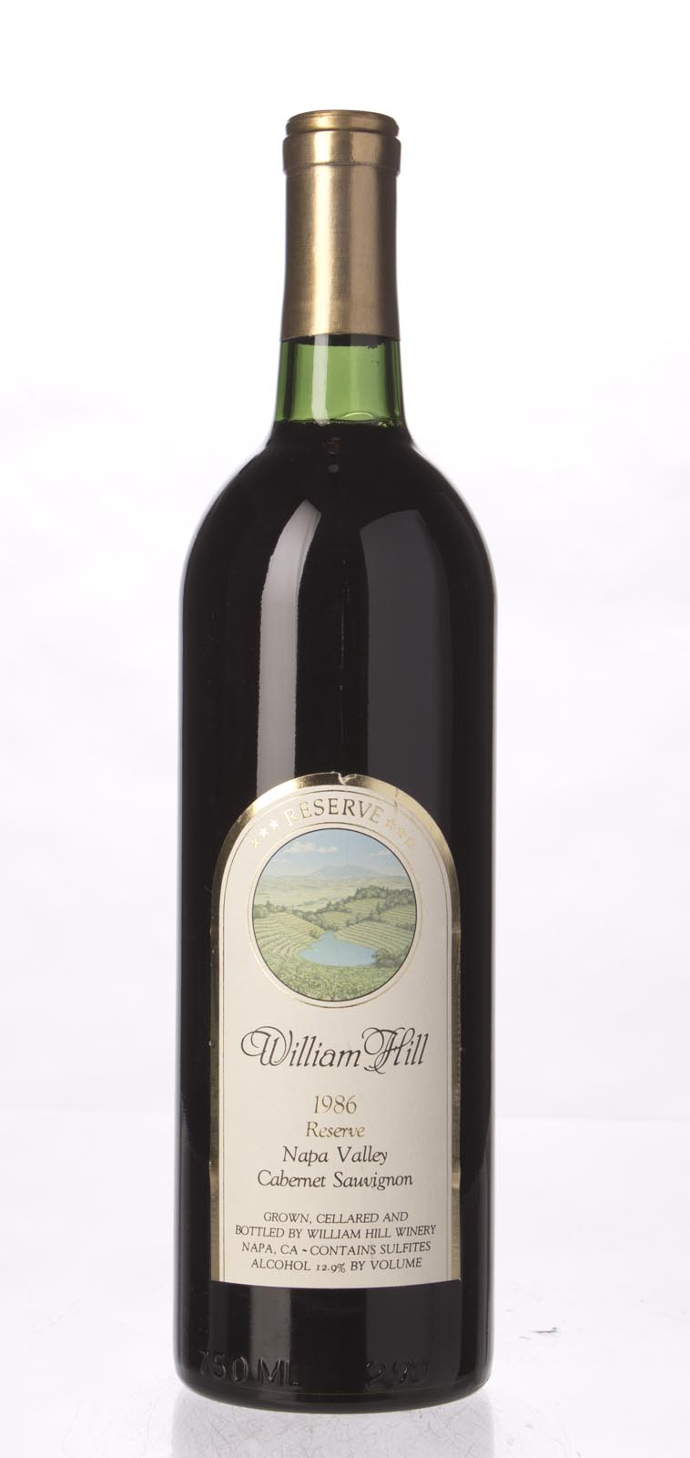 William Hill Cabernet Sauvignon Reserve 1986, 750mL (WS91) from The BPW - Merchants of rare and fine wines.