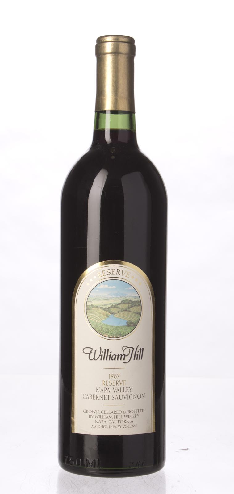 William Hill Cabernet Sauvignon Reserve 1987, 750mL (WS95) from The BPW - Merchants of rare and fine wines.