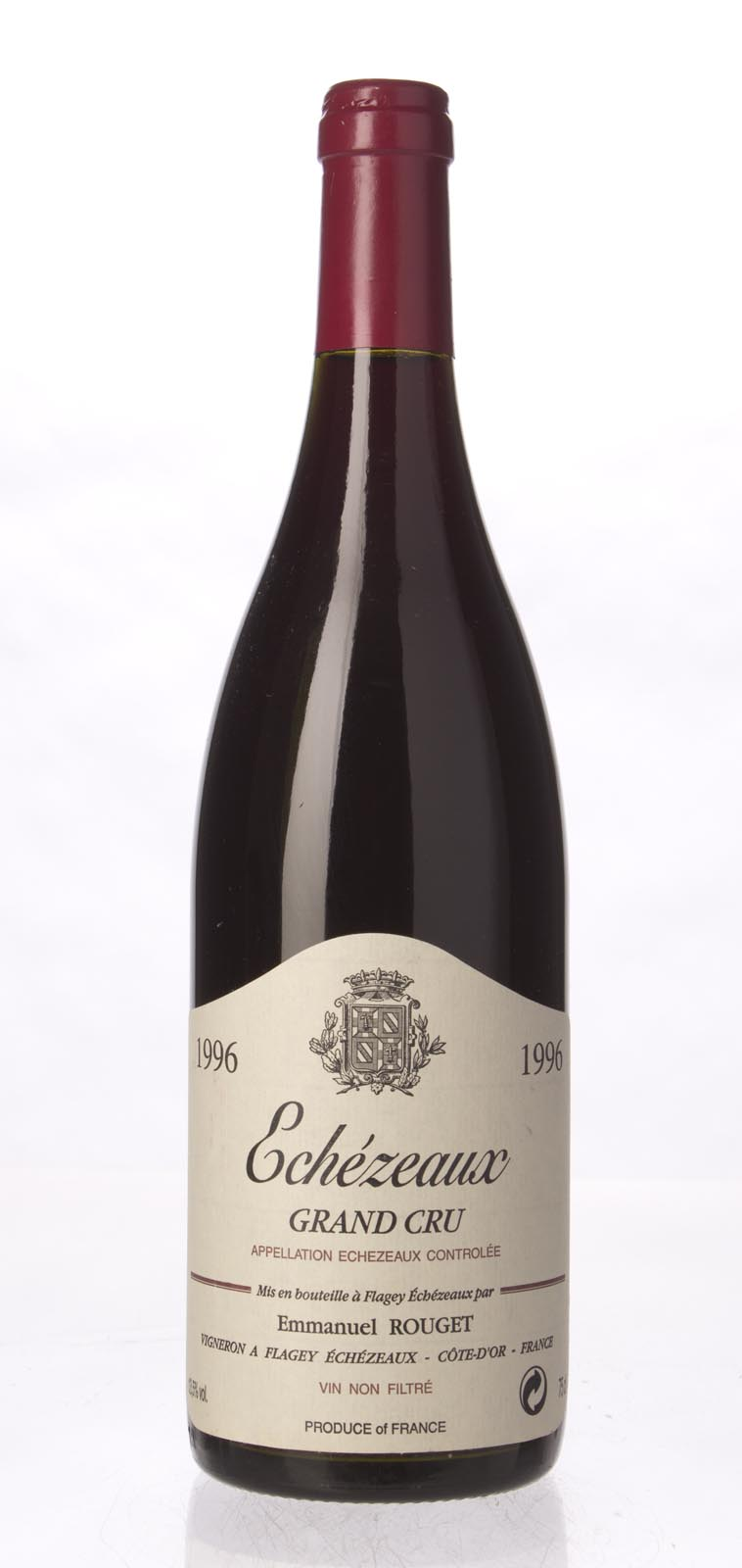 Emmanuel Rouget Echezeaux 1996, 750ml (BH92, WA92-94) from The BPW - Merchants of rare and fine wines.