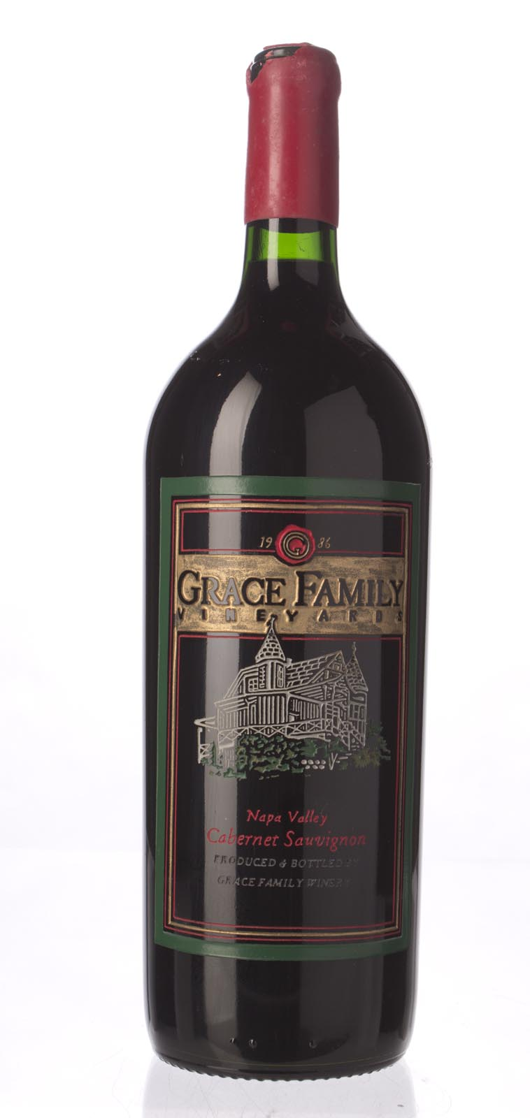 Grace Family Vineyard Cabernet Sauvignon 1986, 1.5L (WA93, WS91) from The BPW - Merchants of rare and fine wines.