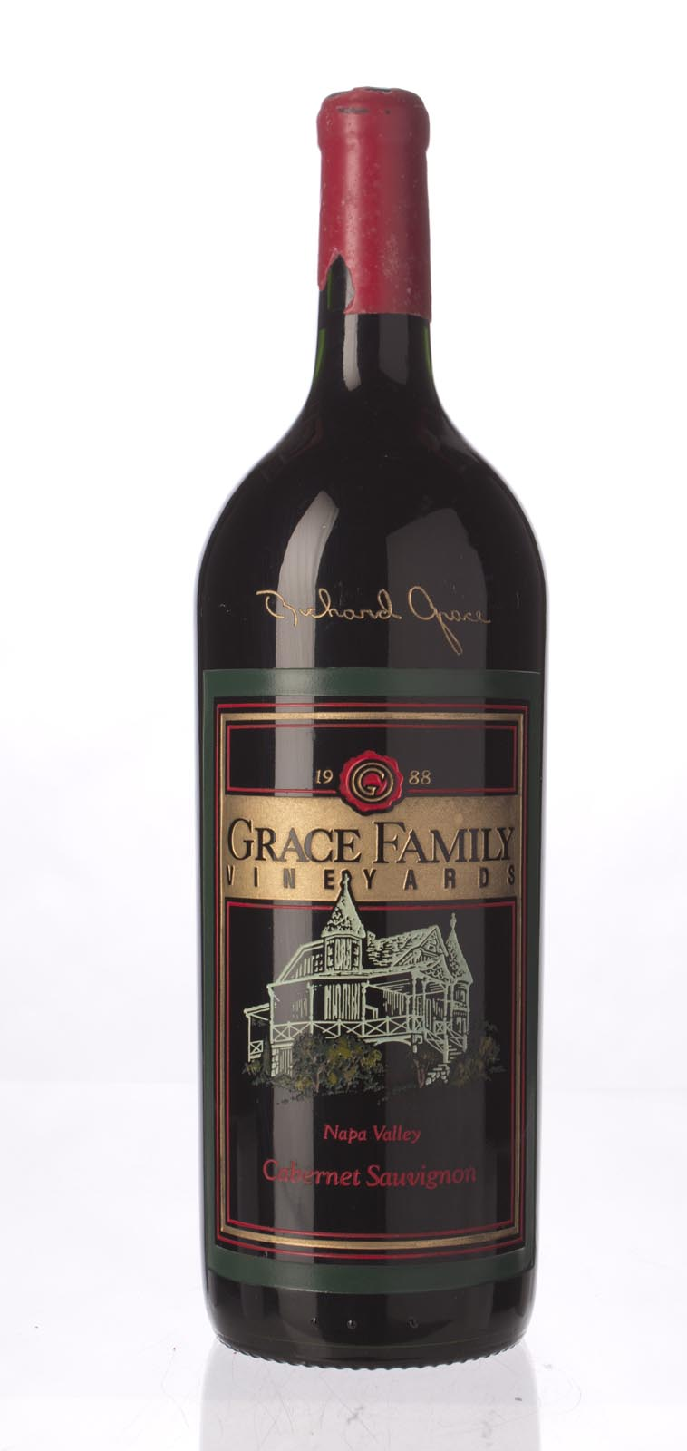 Grace Family Vineyard Cabernet Sauvignon 1988, 1.5L (WS92) from The BPW - Merchants of rare and fine wines.