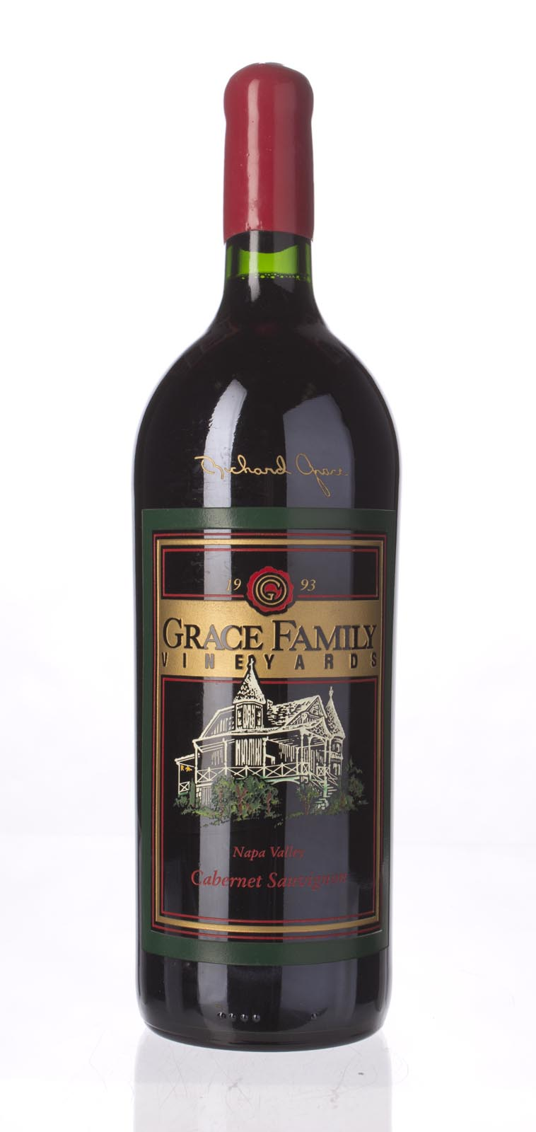 Grace Family Vineyard Cabernet Sauvignon 1993, 1.5L (WA91) from The BPW - Merchants of rare and fine wines.