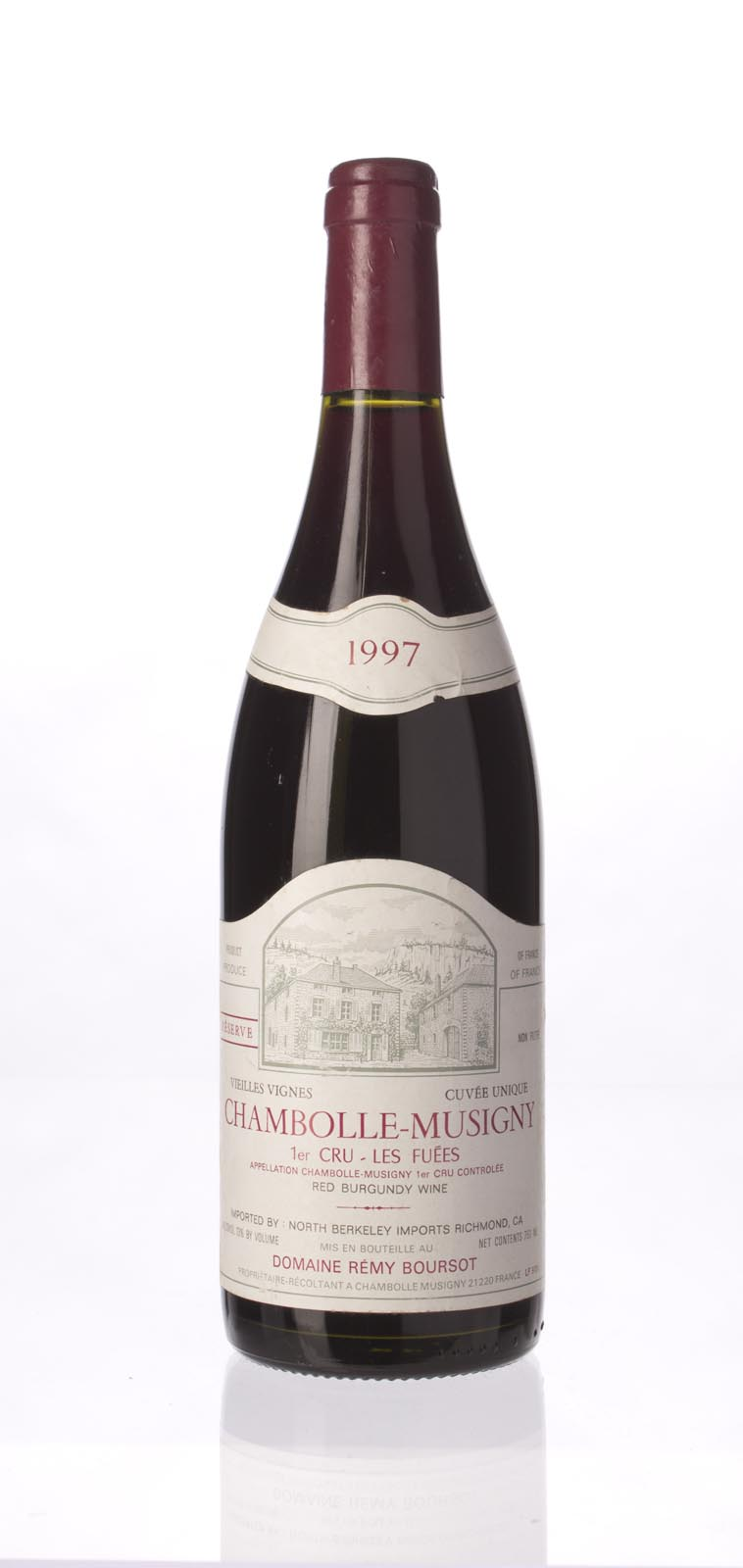Boursot Chambolle Musigny les Fuees Cuvee Unique Reserve 1997, 750mL () from The BPW - Merchants of rare and fine wines.