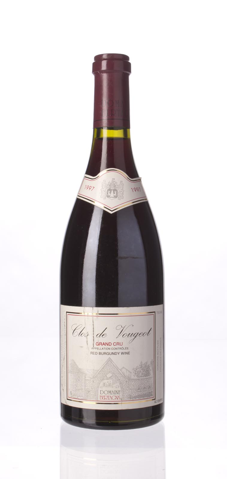 Domaine Bertagna Clos Vougeot 1997, 750mL () from The BPW - Merchants of rare and fine wines.