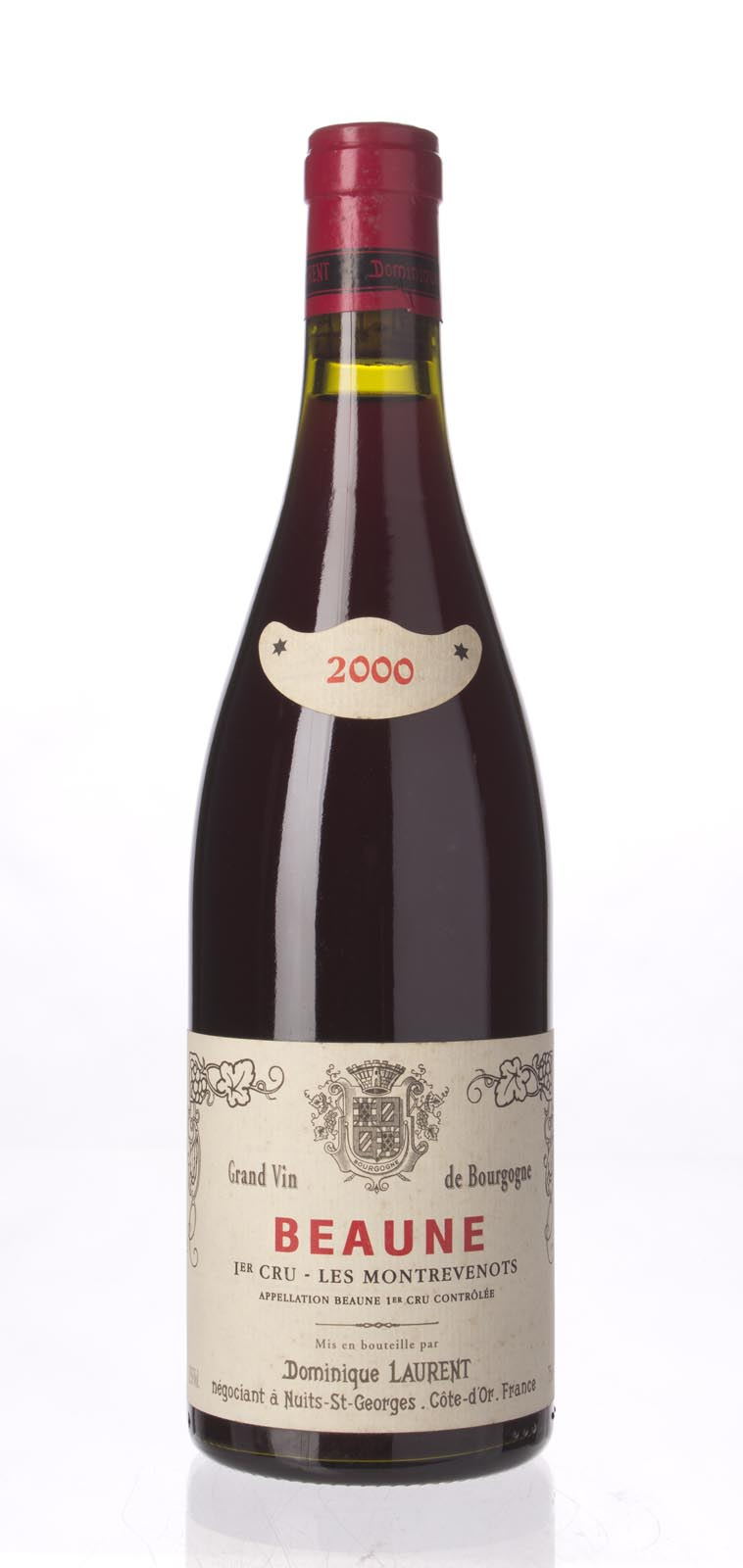 Dominique Laurent Beaune Montrevenots 2000,  () from The BPW - Merchants of rare and fine wines.