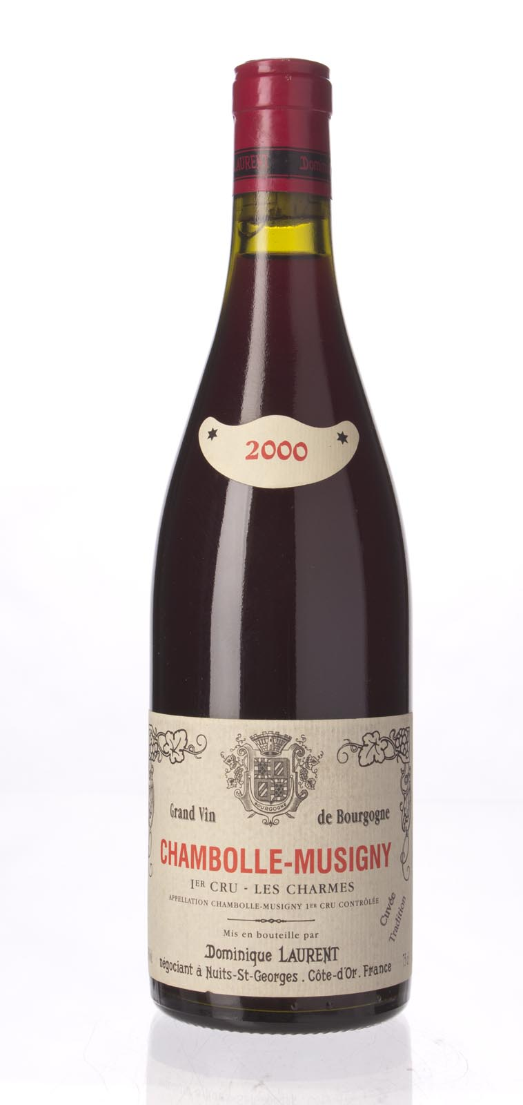 Dominique Laurent Chambolle Musigny les Charmes 2000, 750mL () from The BPW - Merchants of rare and fine wines.