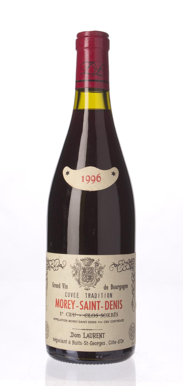 Dominique Laurent Morey St. Denis Clos Sorbes 1996, 750mL () from The BPW - Merchants of rare and fine wines.