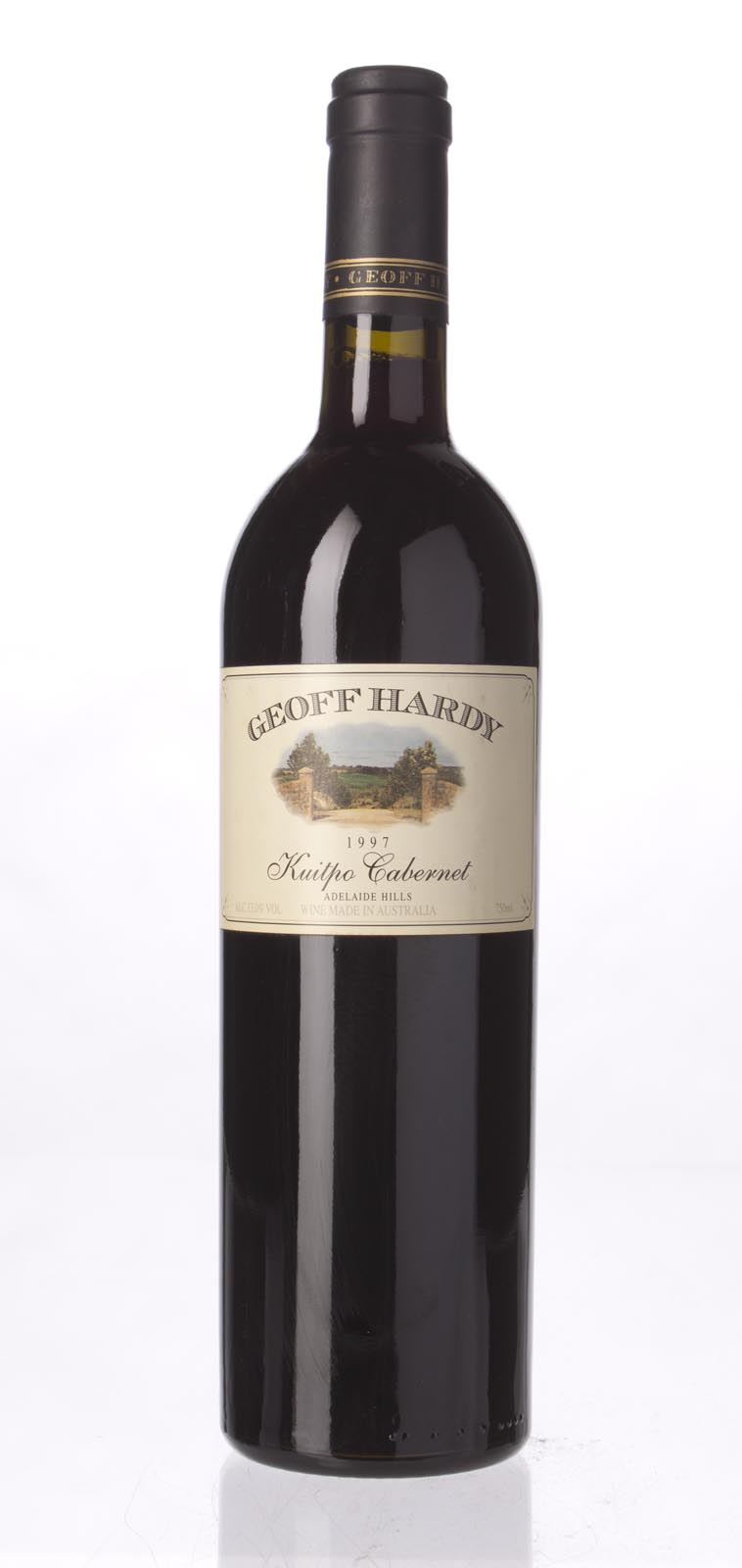 Geoff Hardy Kuitpo Cabernet 1997, 750mL () from The BPW - Merchants of rare and fine wines.