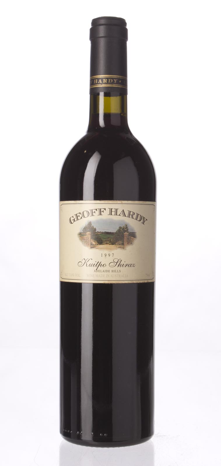 Geoff Hardy Shiraz Kuitpo 1997, 750mL () from The BPW - Merchants of rare and fine wines.