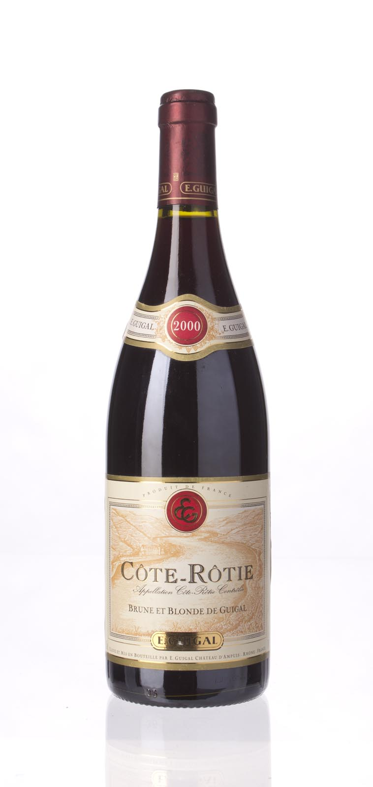 Guigal Cote Rotie Brune et Blonde 2000, 750mL (WA88) from The BPW - Merchants of rare and fine wines.
