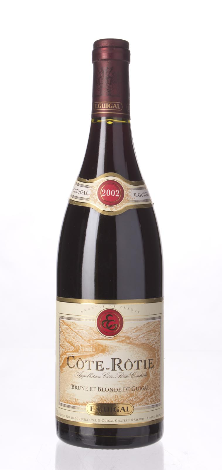 Guigal Cote Rotie Brune et Blonde 2002, 750mL (ST88) from The BPW - Merchants of rare and fine wines.