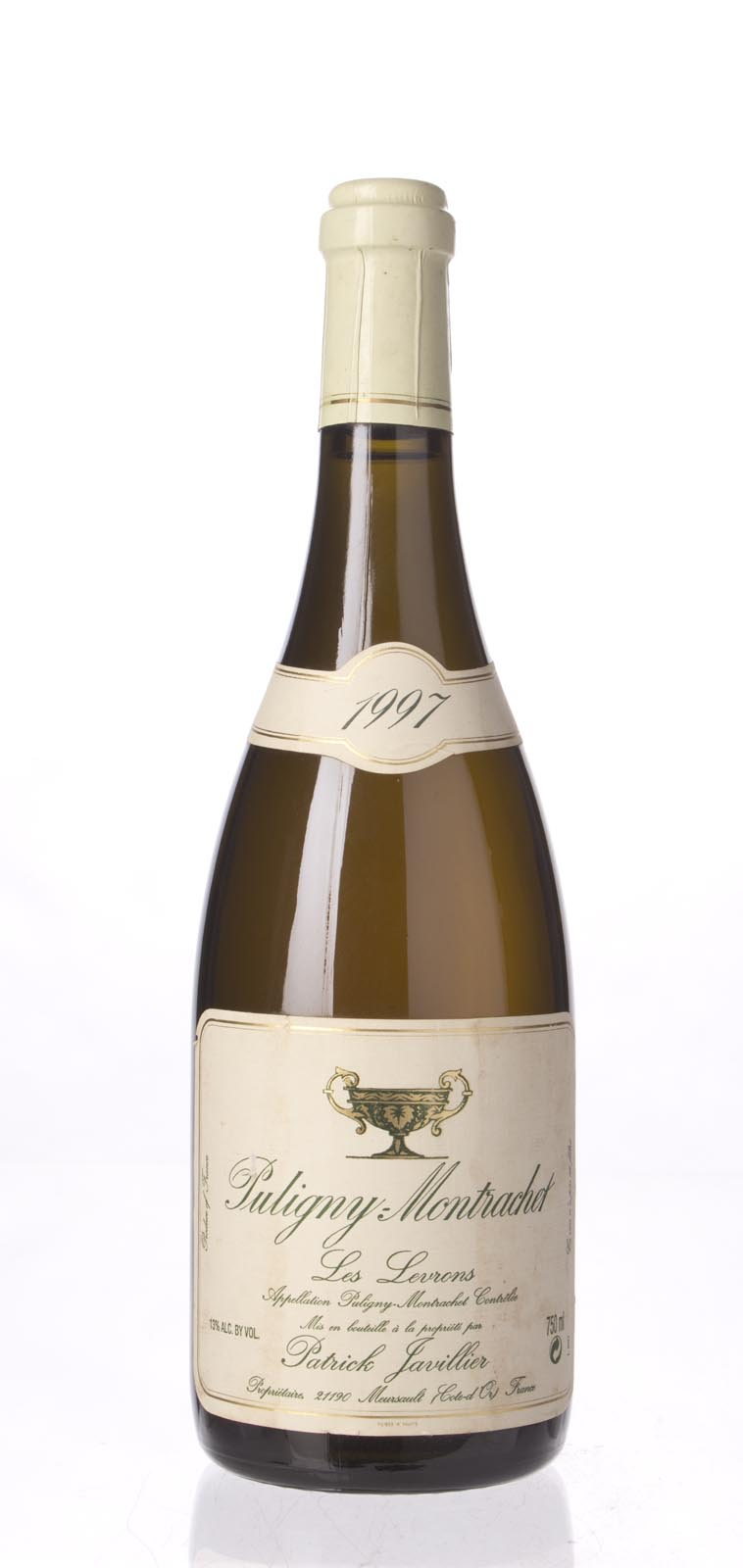 Patrick Javillier Puligny Montrachet les Levrons 1997, 750mL (WA88) from The BPW - Merchants of rare and fine wines.