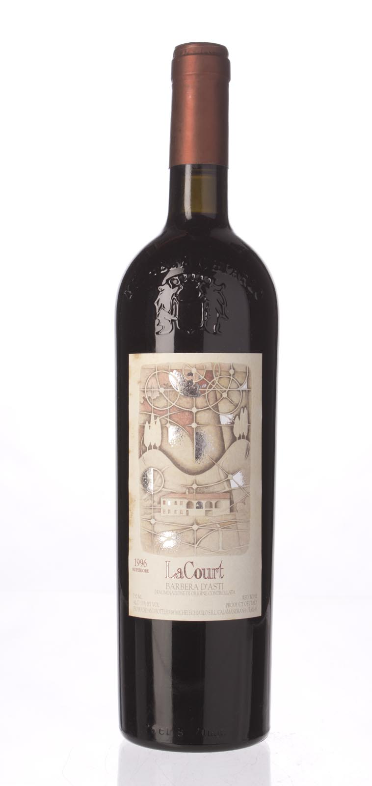 Michele Chiarlo Barbera d`Asti la Court 1996, 750mL () from The BPW - Merchants of rare and fine wines.
