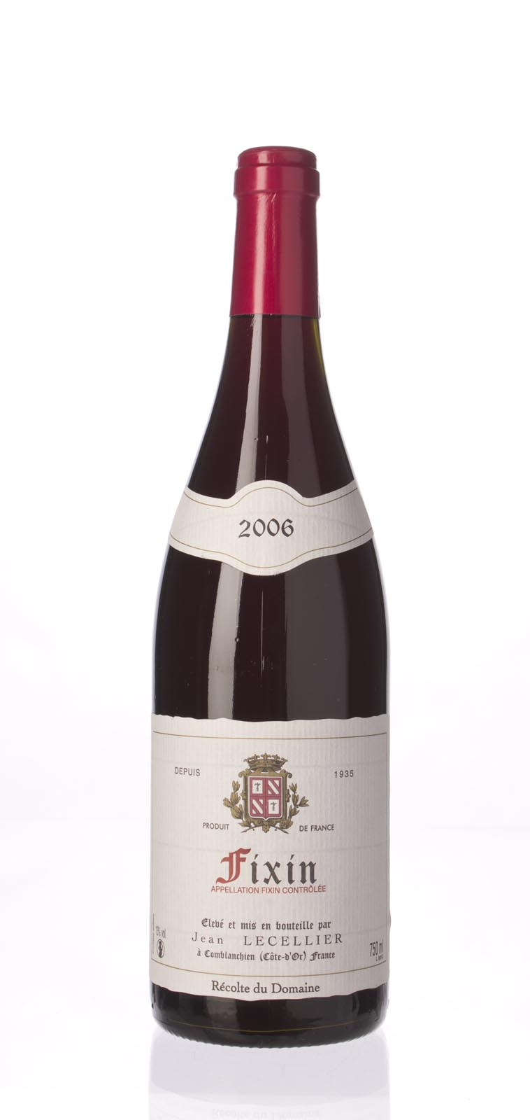 Jean Lecellier Fixin 2006, 750mL () from The BPW - Merchants of rare and fine wines.