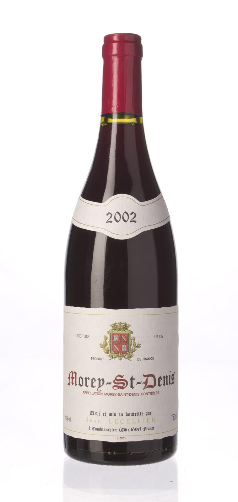 Jean Lecellier Morey St. Denis 2002,  () from The BPW - Merchants of rare and fine wines.